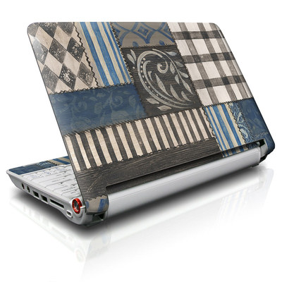 Aspire ONE Skin - Country Chic Blue