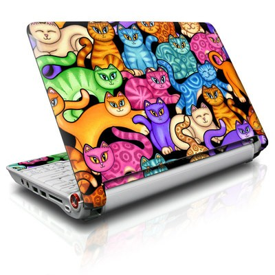 Aspire ONE Skin - Colorful Kittens