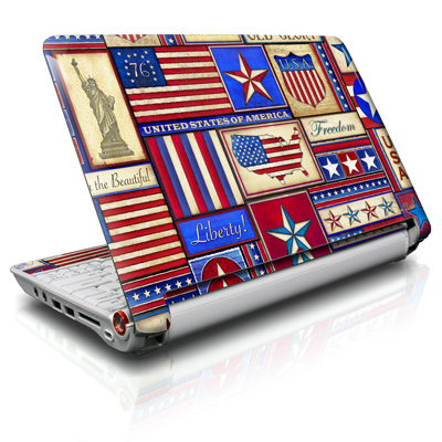 Aspire ONE Skin - Flag Patchwork