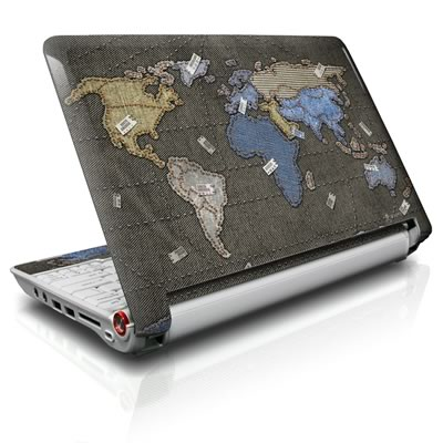 Aspire ONE Skin - Jean Map