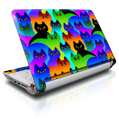 Aspire ONE Skin - Rainbow Cats