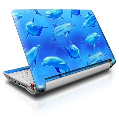 Aspire ONE Skin - Swimming Dolphins