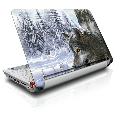 Aspire ONE Skin - Snow Wolves