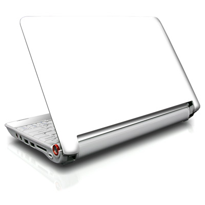 Aspire ONE Skin - Solid State White