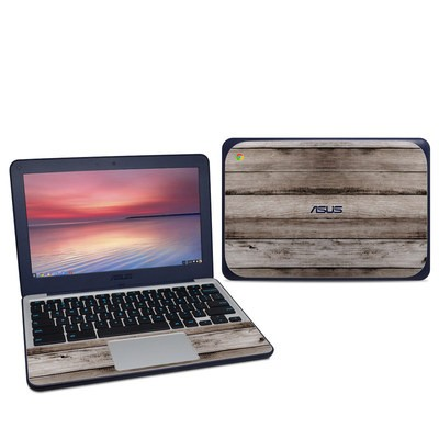Asus Chromebook C202S Skin - Barn Wood