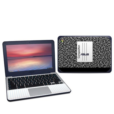Asus Chromebook C202S Skin - Composition Notebook