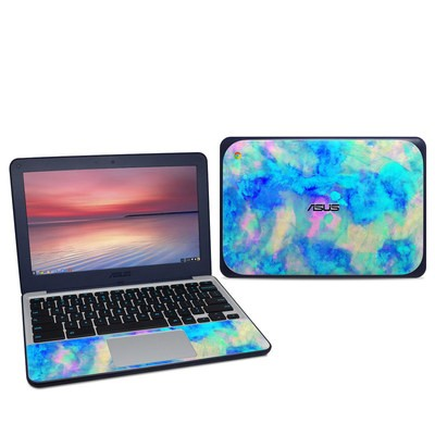 Asus Chromebook C202S Skin - Electrify Ice Blue