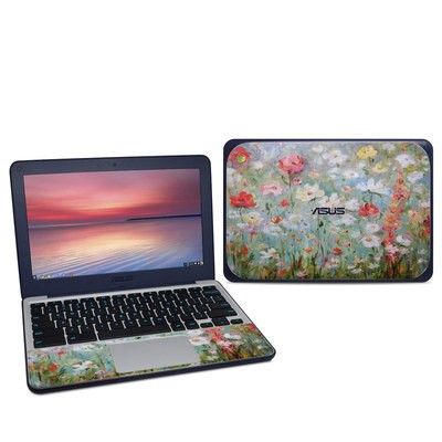 Asus Chromebook C202S Skin - Flower Blooms