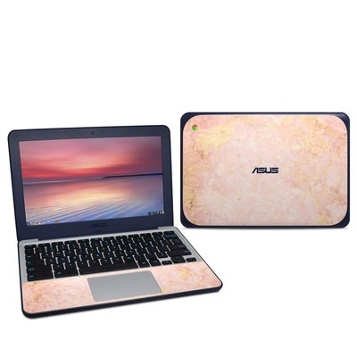 Asus Chromebook C202S Skin - Rose Gold Marble
