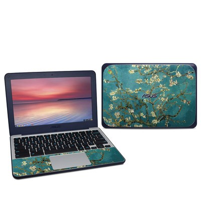 Asus Chromebook C202S Skin - Blossoming Almond Tree
