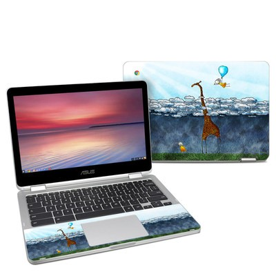 Asus Chromebook C302 Skin - Above The Clouds