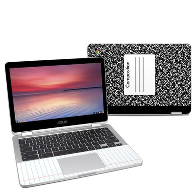 Asus Chromebook C302 Skin - Composition Notebook