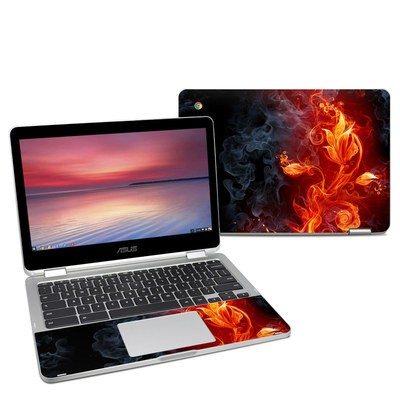 Asus Chromebook C302 Skin - Flower Of Fire
