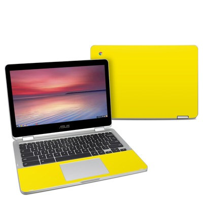 Asus Chromebook C302 Skin - Solid State Yellow