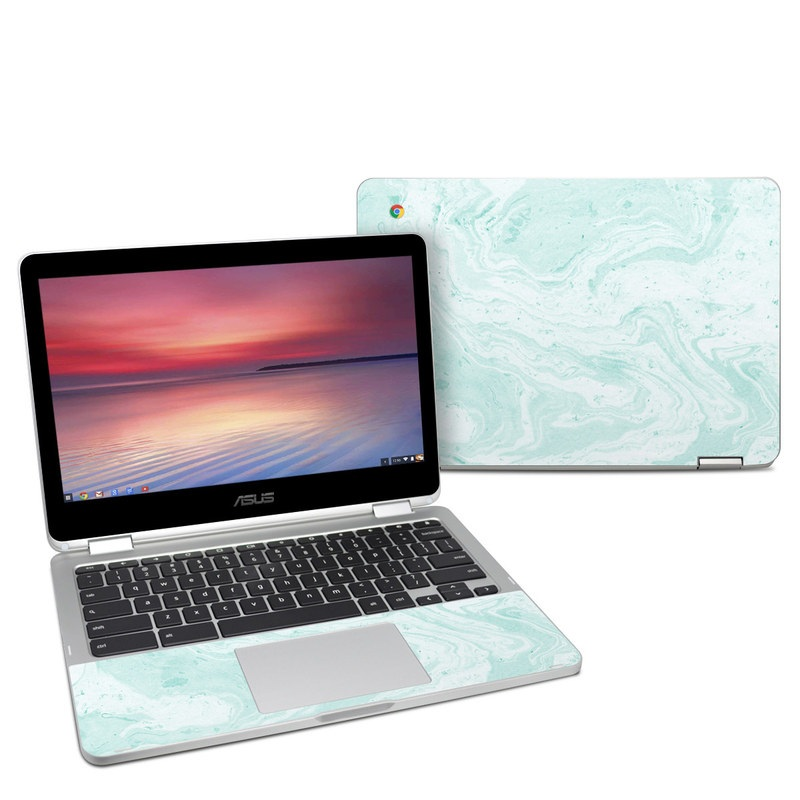Asus Chromebook C302 Skin Winter Green Marble By Marble