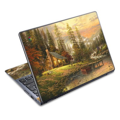 Acer Chromebook C720 Skin - A Peaceful Retreat