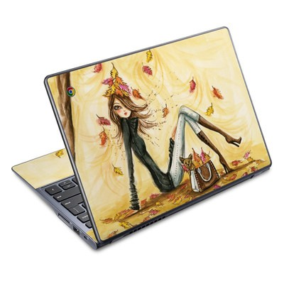 Acer Chromebook C720 Skin - Autumn Leaves