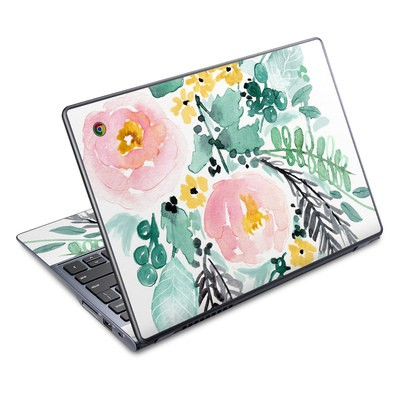 Acer Chromebook C720 Skin - Blushed Flowers