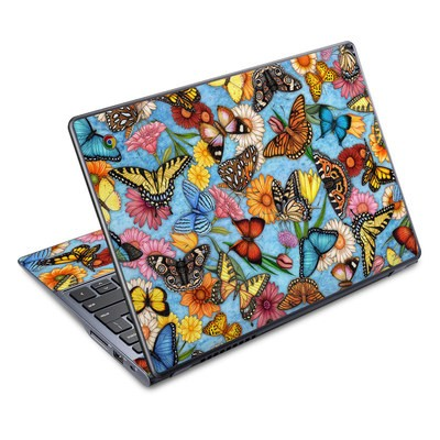 Acer Chromebook C720 Skin - Butterfly Land