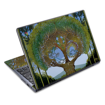 Acer Chromebook C720 Skin - Celtic Tree