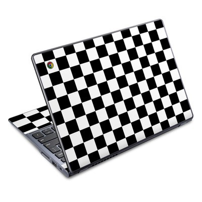 Acer Chromebook C720 Skin - Checkers