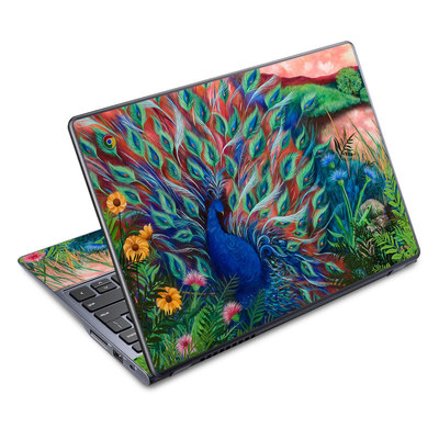 Acer Chromebook C720 Skin - Coral Peacock
