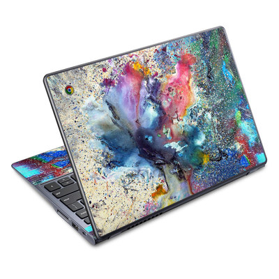 Acer Chromebook C720 Skin - Cosmic Flower