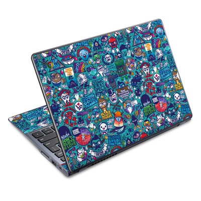 Acer Chromebook C720 Skin - Cosmic Ray