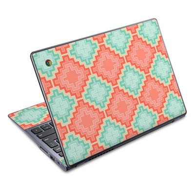 Acer Chromebook C720 Skin - Coral Diamond