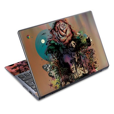 Acer Chromebook C720 Skin - Doom and Bloom