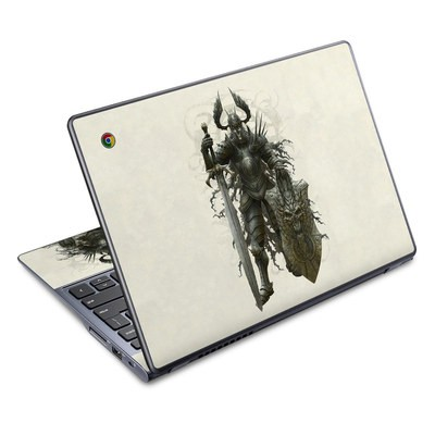 Acer Chromebook C720 Skin - Dark Knight
