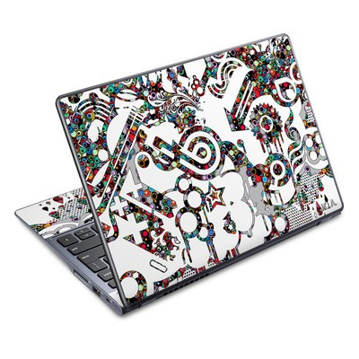 Acer Chromebook C720 Skin - Dots
