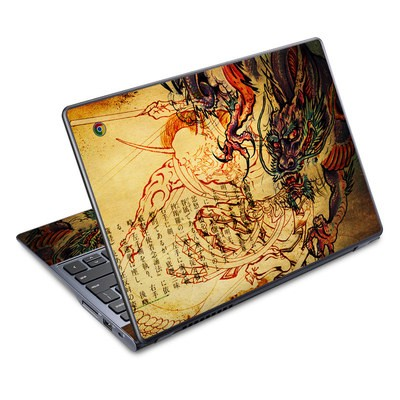 Acer Chromebook C720 Skin - Dragon Legend