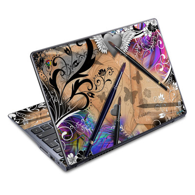 Acer Chromebook C720 Skin - Dream Flowers