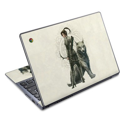 Acer Chromebook C720 Skin - Half Elf Girl