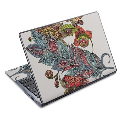 Acer Chromebook C720 Skin - Feather Flower