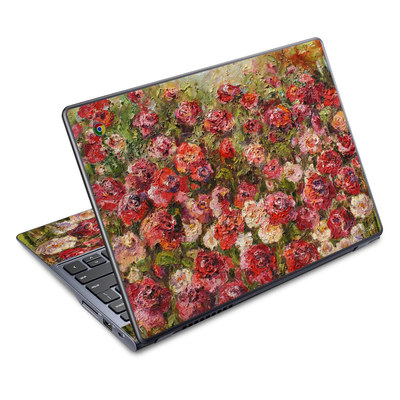 Acer Chromebook C720 Skin - Fleurs Sauvages