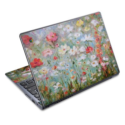 Acer Chromebook C720 Skin - Flower Blooms