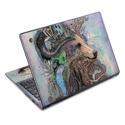 Acer Chromebook C720 Skin - Forest Warden