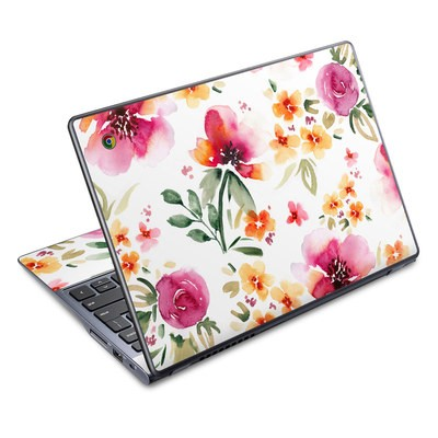 Acer Chromebook C720 Skin - Fresh Flowers