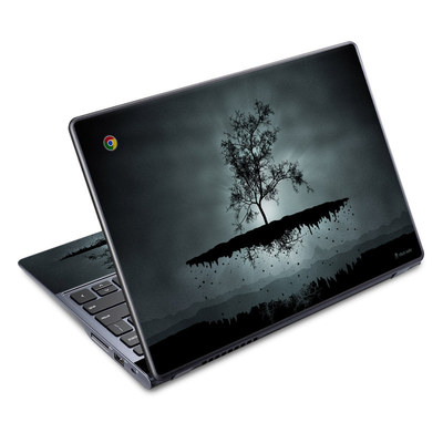 Acer Chromebook C720 Skin - Flying Tree Black