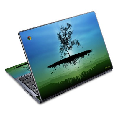 Acer Chromebook C720 Skin - Flying Tree Blue
