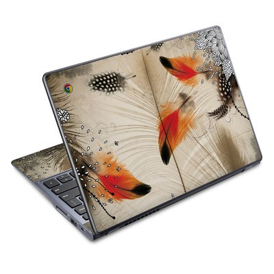 Acer Chromebook C720 Skin - Feather Dance