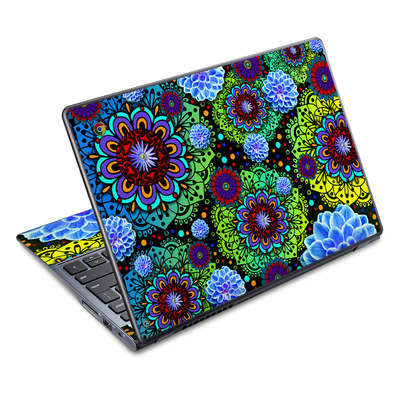 Acer Chromebook C720 Skin - Funky Floratopia