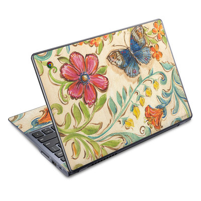 Acer Chromebook C720 Skin - Garden Scroll