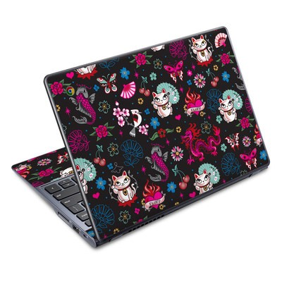 Acer Chromebook C720 Skin - Geisha Kitty