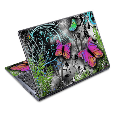 Acer Chromebook C720 Skin - Goth Forest
