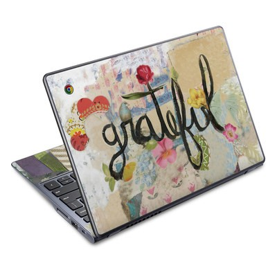 Acer Chromebook C720 Skin - Grateful