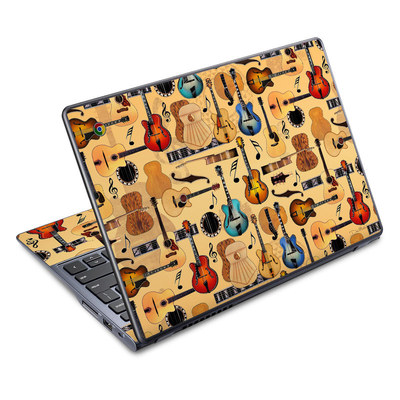 Acer Chromebook C720 Skin - Guitar Collage