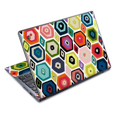 Acer Chromebook C720 Skin - Hex Diamond
